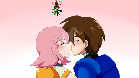 CM:Happy New Year Megaman X and Nana by TrainerAshandRed35