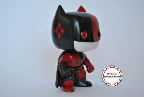 Custom Funko Pop Vinyl Batman Harley Quinn by ApplePie-Productions