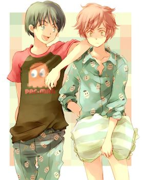 shared pajamas by nolly3