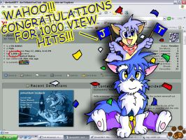 1000 views for JTFC by Coshi-Dragonite