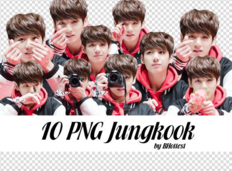 10 PNG Jungkook by BHottest