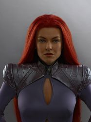Marvel's Inhumans Serinda Swan as Medusa by Artlover67