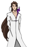 Aizen Second Form by Arrancarfighter