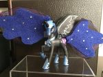 Nightmare Moon Figurine by TexacoPokerKitty
