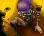 Noodle In Hell by beacam41