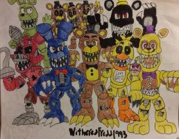 FNAF World: We are your Nightmares! by WitheredFreddy1993