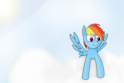 That Rainbow Horse by 2014mlpannon
