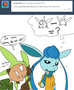 Ask the Characters 10: The Hat by Sandwich-Anomaly
