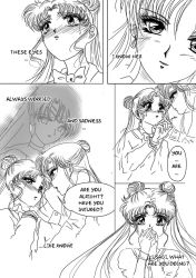 Capter 2 Page 1 (Sailor Moon Doujinshi II) by SilverSerenity1983