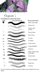 FireAlpaca Custom Brushes by Ooupoutto