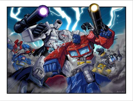 Transformers Acidfree NYCC poster by MarceloMatere