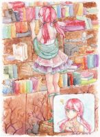Library by Asu-hime