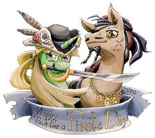 Happy Talk like a Pirate Day by TariToons