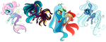 [CLOSED] Teeny Mermay Pony auction: Points or PP by LunnaDeLuna