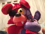Foxy and Bonnie plush!!! by KikiFun
