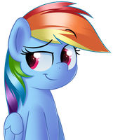 It's Rainbow Dash! by sykobelle
