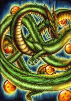 I'll grant you a wish - Shenlong/Shenron by Curse-of-Lolth