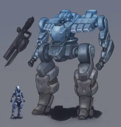 Mecha - Ullr-02 by ModalMechanica