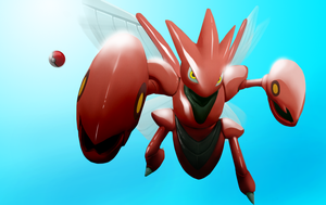 I can has claws - Scizor by mqken