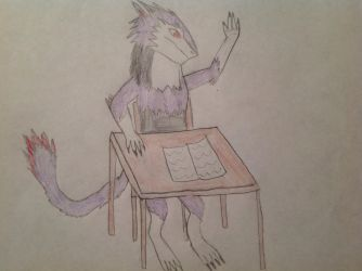 Teacher, I require assistance by Reign-The-Sergal