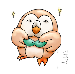 Rowlet Star by Lolotie