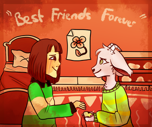 Best Friends Forever by aniixor