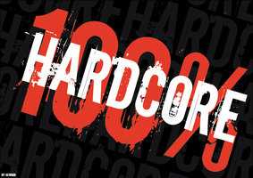 100 Percent Hardcore Wallpaper by Kevinho160