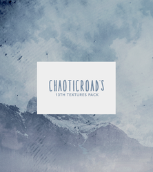 ChaoticRoad's 13th Textures Pack by SoDamnReckless