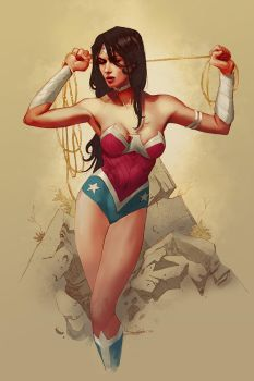 Wonder Woman new 52 by Takrezz