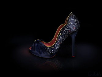 Snow White's Shoe - Disney Sole by becsketch