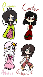 Random Outfit Designs 1 by princess--magician