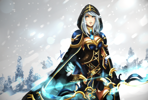 Ashe Redesign by Hannah515