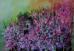 The Almond  Tree  - 140 by HaiaShouster