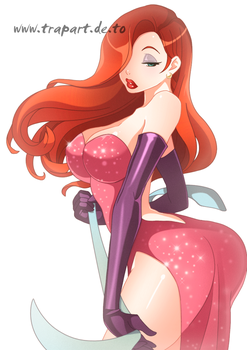 Jessica Rabbit by tomkruger