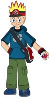 Pokemon Trainer version on Johnny Test by MCsaurus