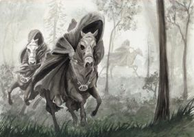Black Riders by In-The-Distance