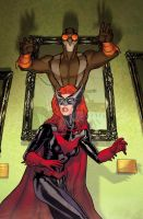 Batwoman cover # 26 by StephaneRoux
