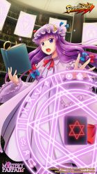 Patchouli Mobile Wallpaper 1080 by mysteryparfait