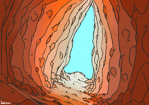 A cave. by Sofloan