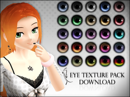 -MMD- Eye texture pack DOWNLOAD by LizzyVolti
