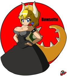 Bowsette by Kyo-Saeba