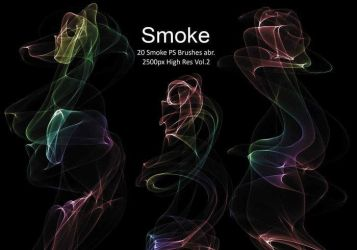 20 Smoke PS Brushes abr. Vol.2 by fhfgdjjkhjkj