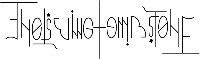 Ambigram for The Living Tombstone by stpinkie