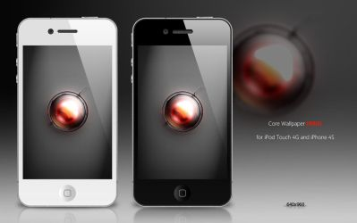 Core Wallpaper for iPod (RED) by Zedj