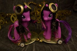 Twilight Sparkles Steampunked by bluepaws21