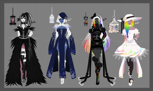 Soul Collector Adopt Set V [Open] by Marushi-Dracul