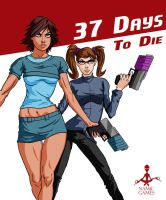 37 Days to Die game cover by discipleneil777