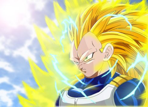 Super Saiyan 3 Vegeta. by Alvc57