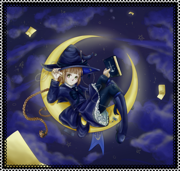 Wadanohara by AsleepPanther