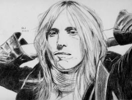 Tom Petty by X-Enlee-X